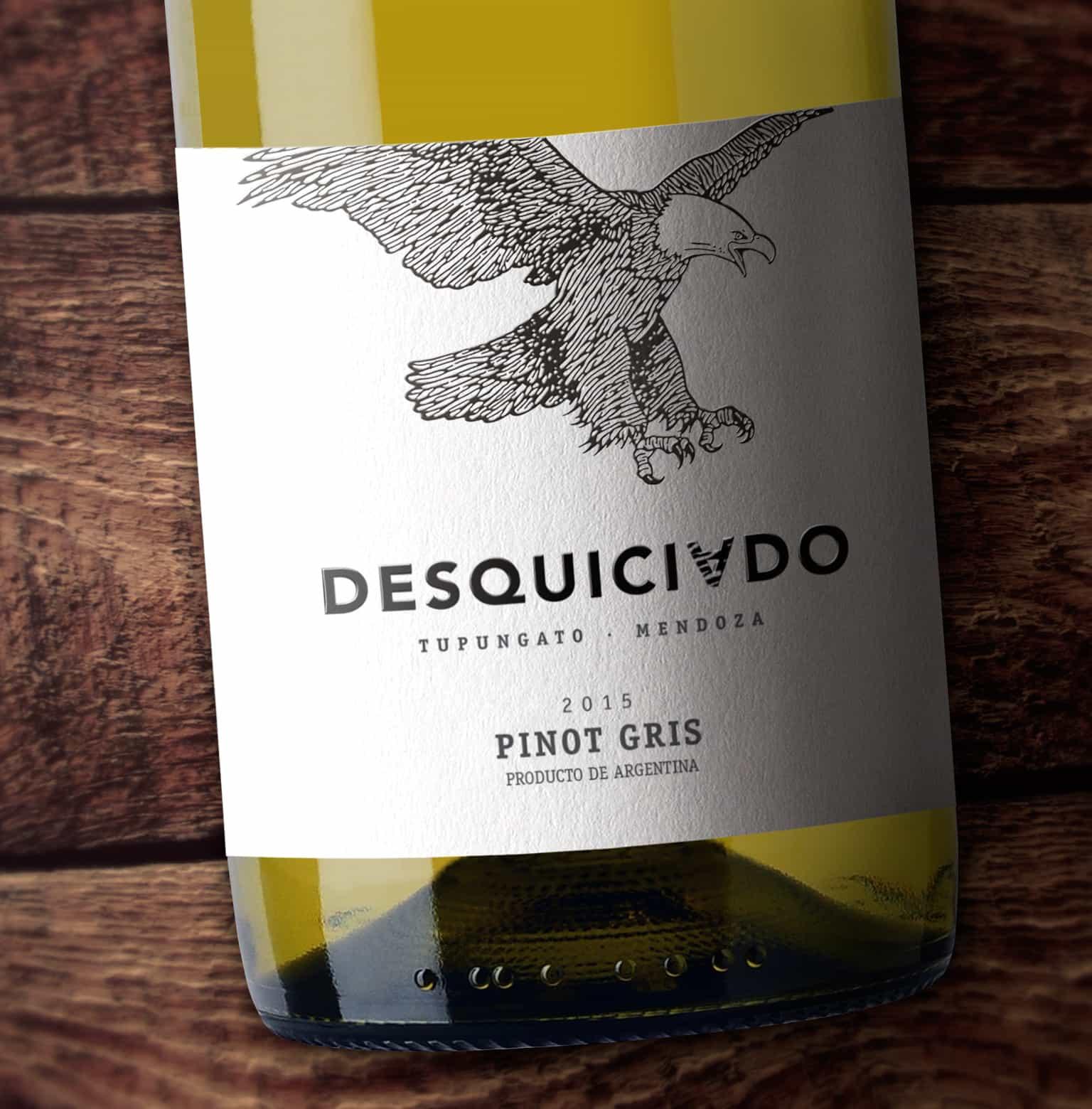 Desquiciado Pinot Gris Caliptra