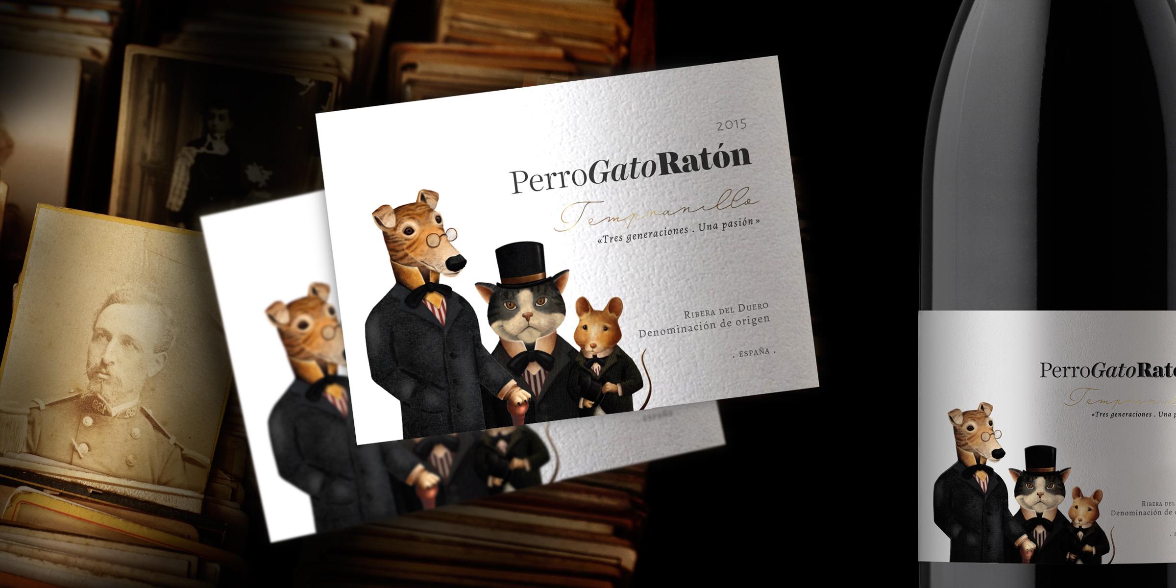Perro Gato Raton